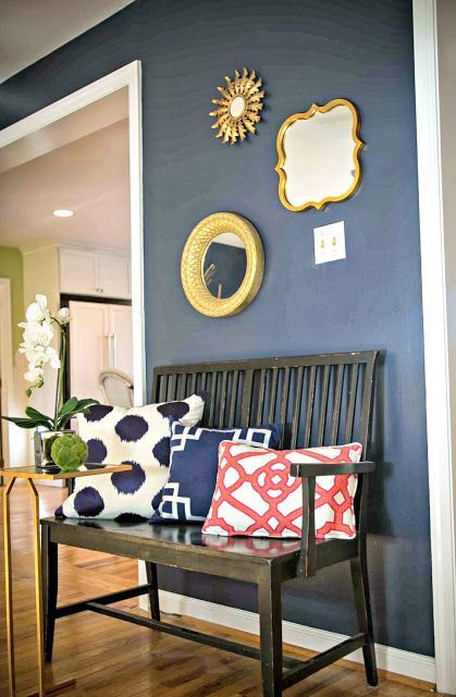 Hale Navy By Benjamin Moore Online Interior Decorator Color Of The Week