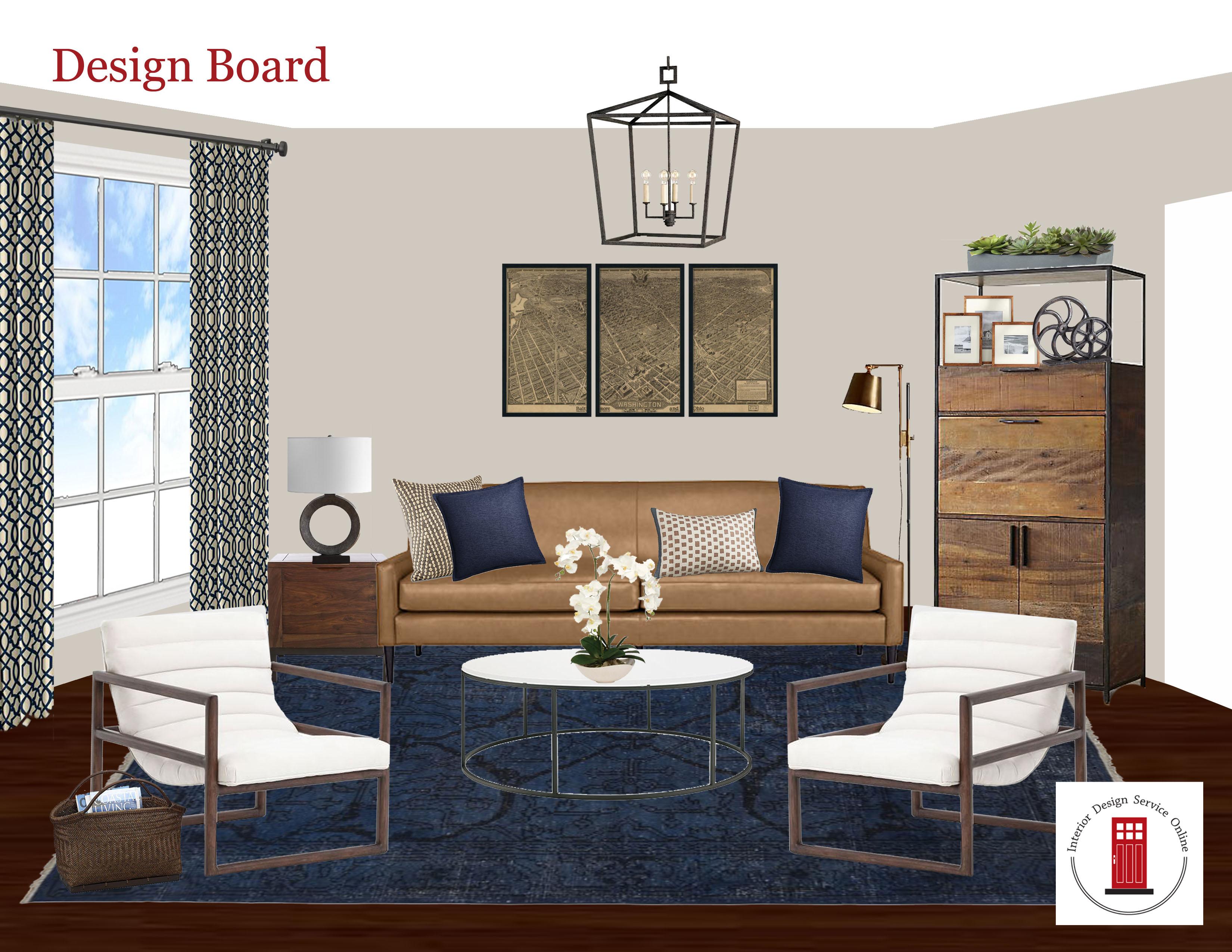 Online Interior Design Process
