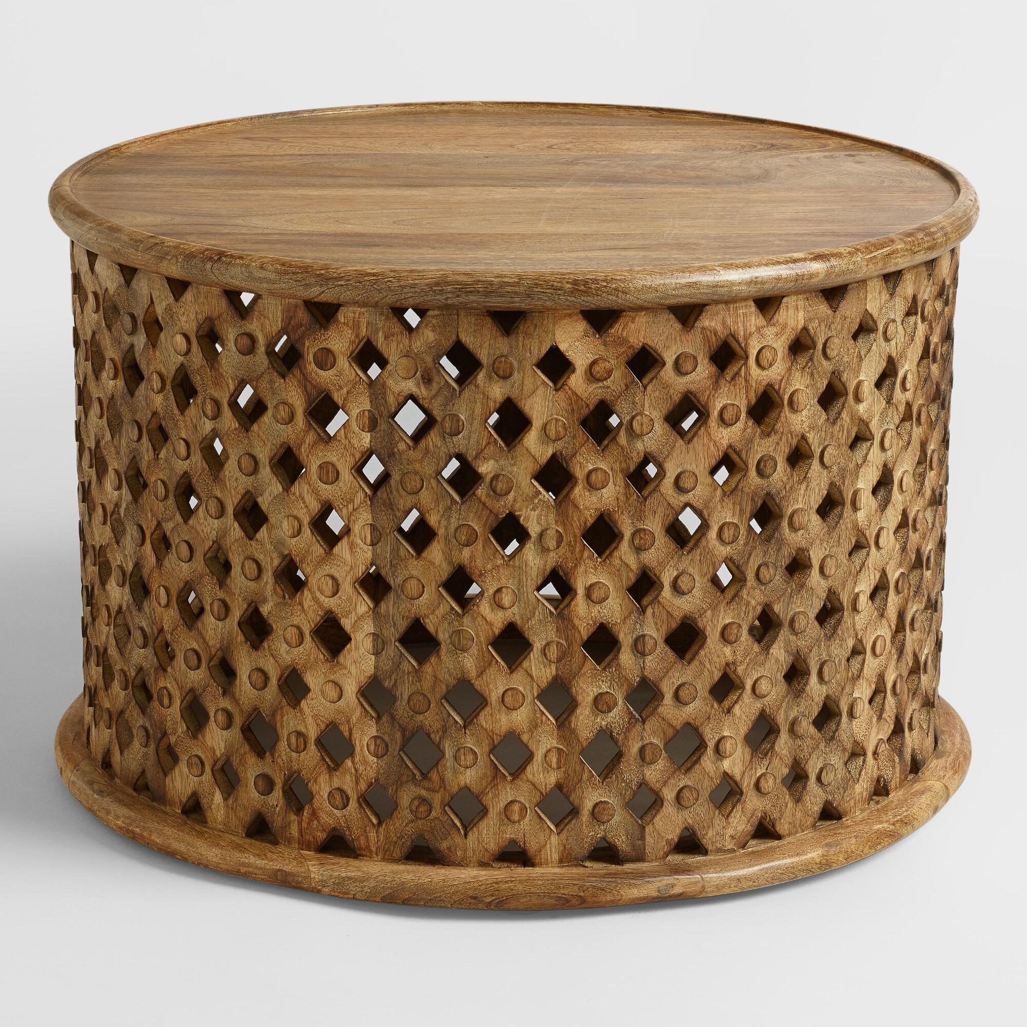 Tribal Carved Coffee Table Interior Decorator Online