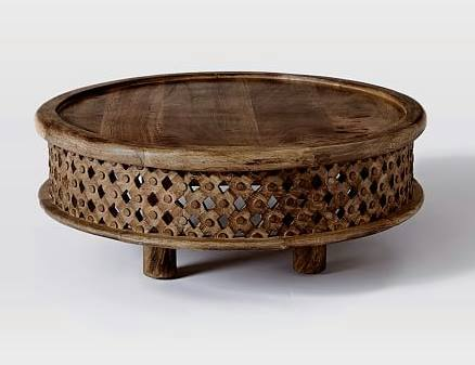 Tribal carved coffee table interior decorator online for Tribal carved coffee table