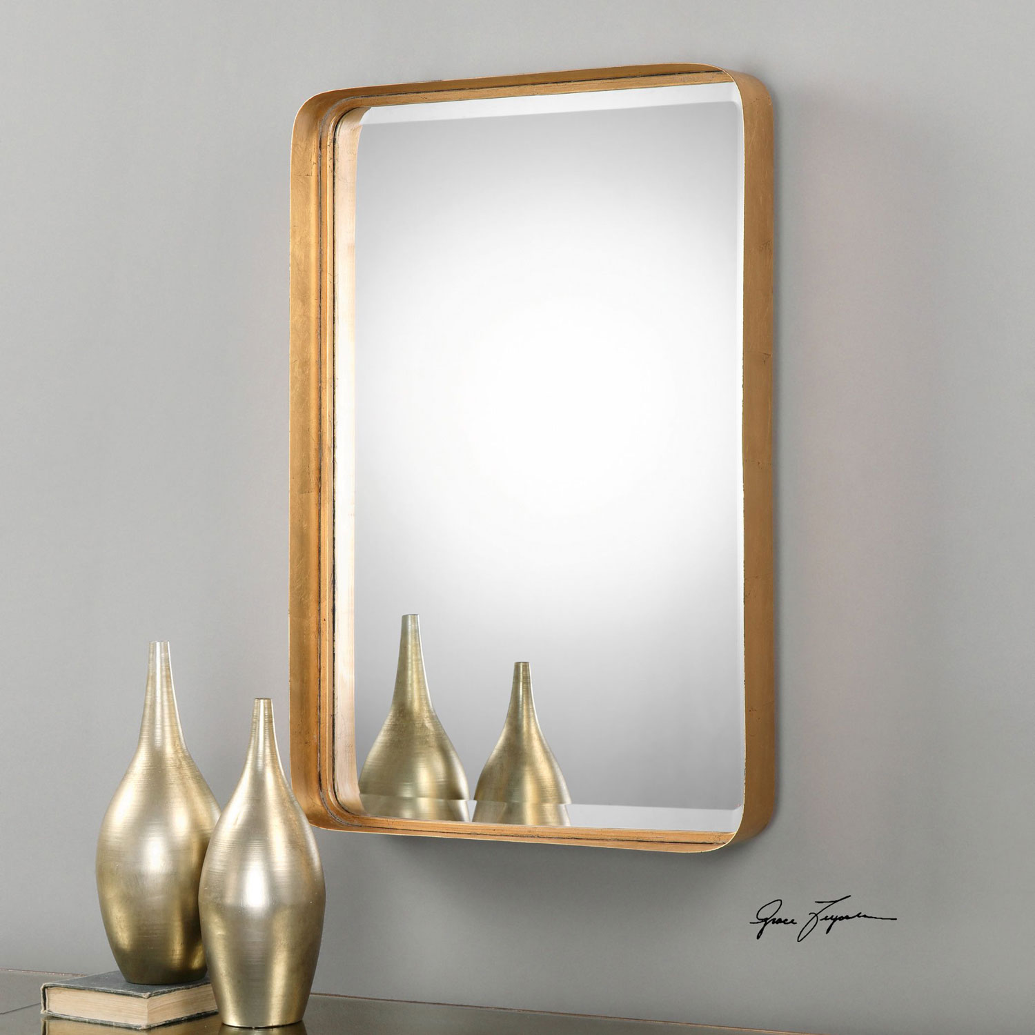 The Look For Less Retro Modern Golden Mirrors Interior Design